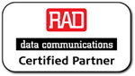 Cutter Networks is a RAD Certified Partner
